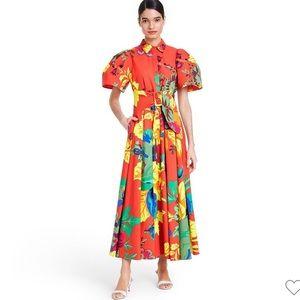 NWT! 🏆 CHRISTOPHER JOHN ROGERS Floral Dress